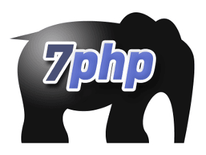 The Mystical 7PHP Mascot Logo