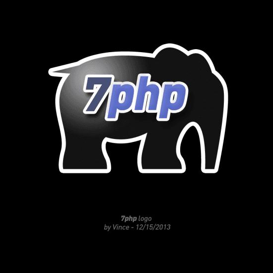 7PHP Logo v2 – Designed by Vincent Pontier
