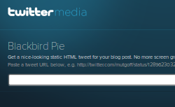How To Quote Tweets – Twitter Answers Your Quote-It Needs With Blackbird Pie, The New Baking Tool!