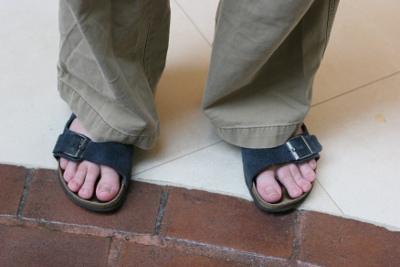 Matthew Weier O'Phinney Wearing Sandals