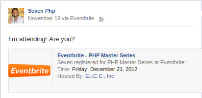 7php is attending phpmasterseriesv1 - Are You?