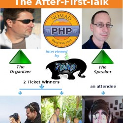 Things You Don't Know About NomadPHP + The 'After-First-Talk' Of NomadPHP – Features 5 interviews with The Organizer, The Speaker & 3 Attendees