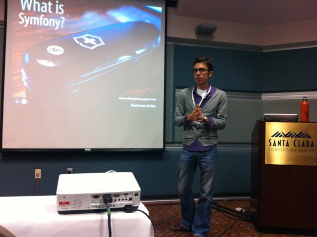 Ryan Weaver of KNPlabs at an uncon