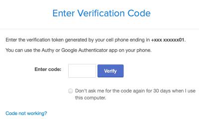 Coinbase Verification via sms