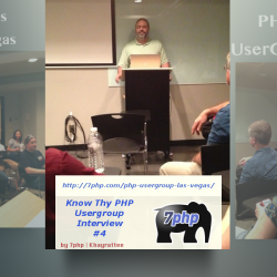 Know The Las Vegas PHP User Group – Help Each Other & We All Benefit