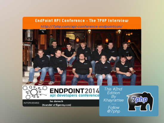 EndPointCon.com API Conference - Interview by 7PHP