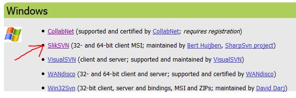 Install SilkSVN to Have Native SVN Installed