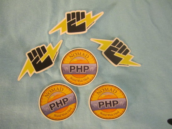 NomadPHP Stickers