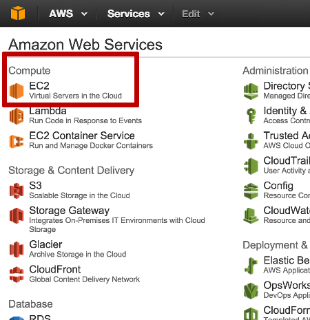 AWS Dashboard Preview
